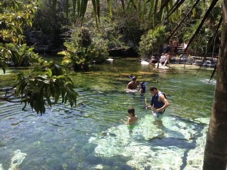 cenote azul 3