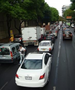 korki w Mexico City
