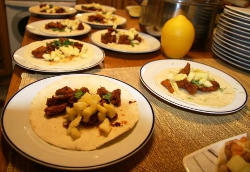 domowe tacos al pastor