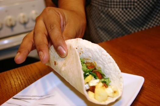 taco - chwyt smakosza
