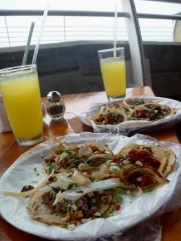 tacos serwowane na woreczku