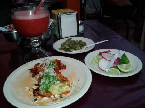 tacos z dodatkami
