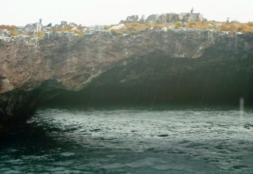 Islas Marietas w deszczu