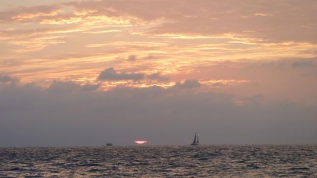 Puerto Vallarta zachód słońca