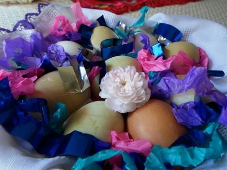 jaja malowane domowymi sposobami