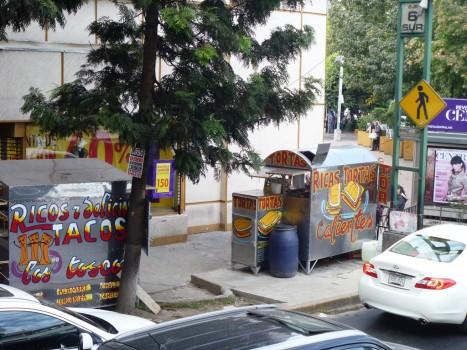 Jedzenie na ulicy w Meksyku