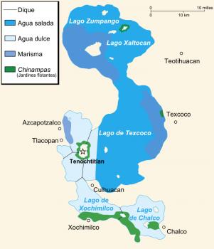Jezioro Texcoco