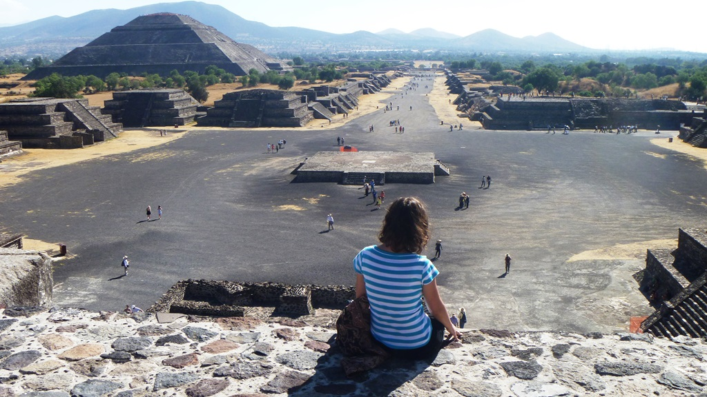 Aleja Zmarłych - Teotihuacan