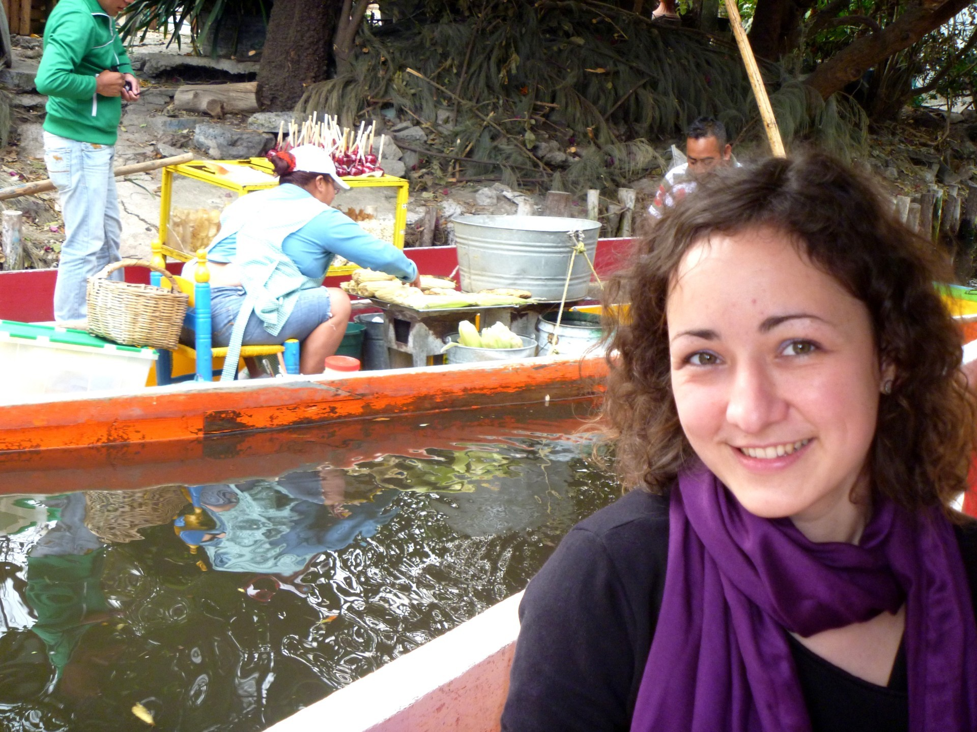 chinampas w Xochimilco