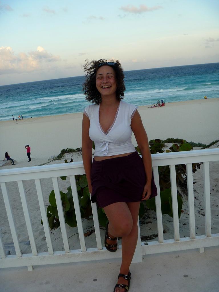 publiczna plaża - Cancun